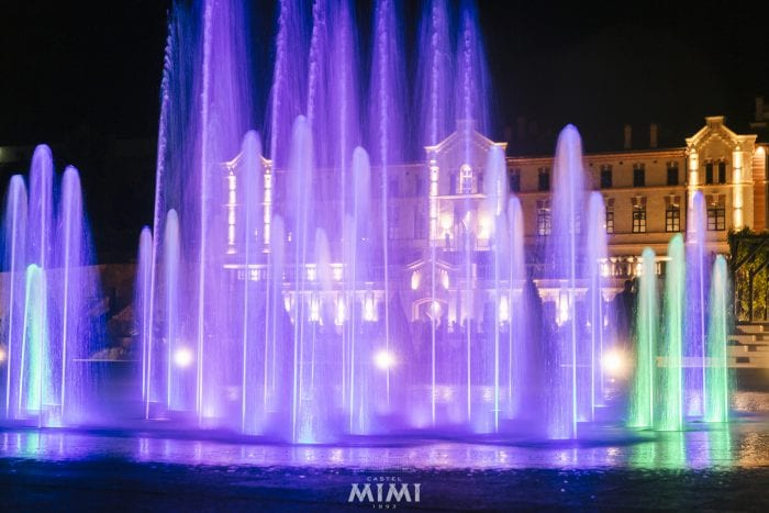 Musical fountain_Top Moldovan winery with tours, hotel, restaurant and event venues