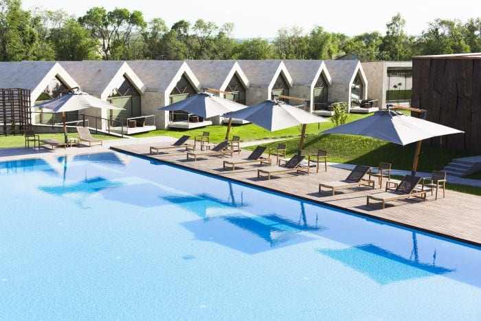 Hotel and pool_Top Moldovan winery with tours, hotel, restaurant and event venues